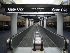 Terminal C walkway