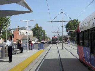 Northside-Southside MetroLink at St. Louis Ave